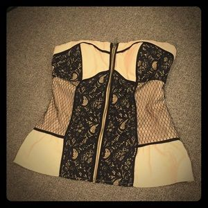 Rampage Corset top